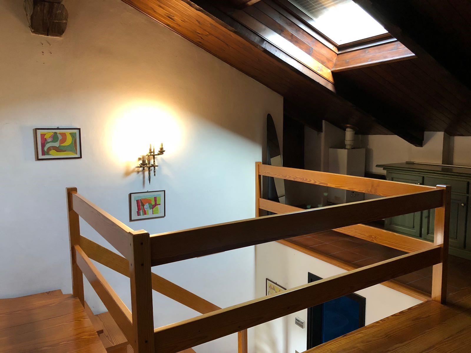 Appartamento in mansarda con soppalco